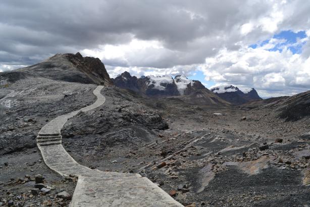 Caminho até o Nevado