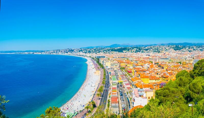 Nice, França - lugares mediterrâneos para visitar