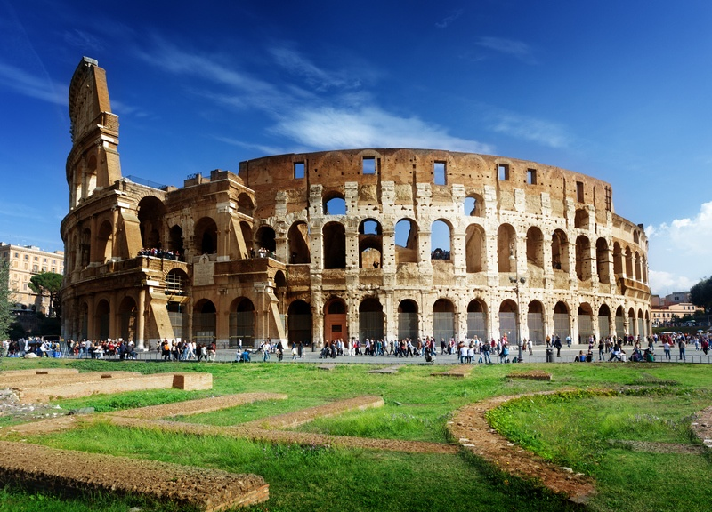 Roma, Coliseu, Melhores Cidades do Mediterrâneo