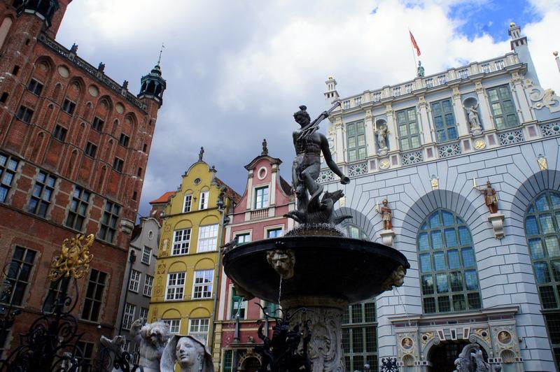 por semana na Polônia - A cidade velha e seu famoso Netuno são os destaques de Gdansk