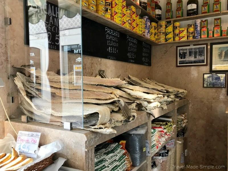 Lisboa Food Tour Review Gobble - Salt Bacalhau