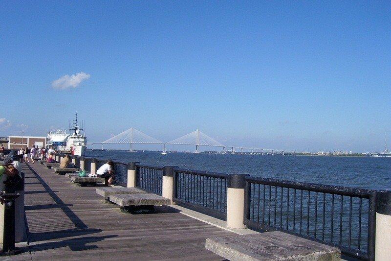 Itinerário de 3 dias em Charleston - Porto de Charleston