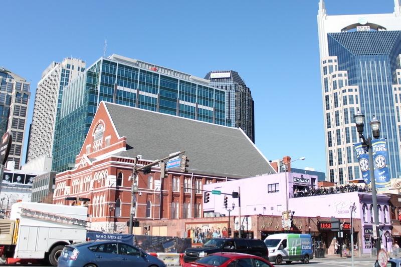 Instruções para Nashville - Auditorium Ryman