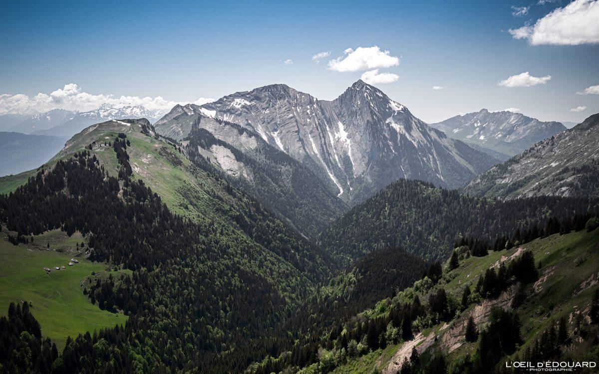 Mont Pécloz de Col du Drison - Bauges caminhadas maciço Savoie Alpes França Paisagem Montanha - Montanha paisagem Alpes franceses Caminhadas ao ar livre Caminhadas