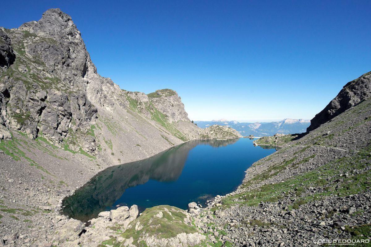 Alpes Franceses Caminhada Caminhada Lac du Crozet Belledonne Isere Alpes França Montanha Paisagem Paisagem montanhosa