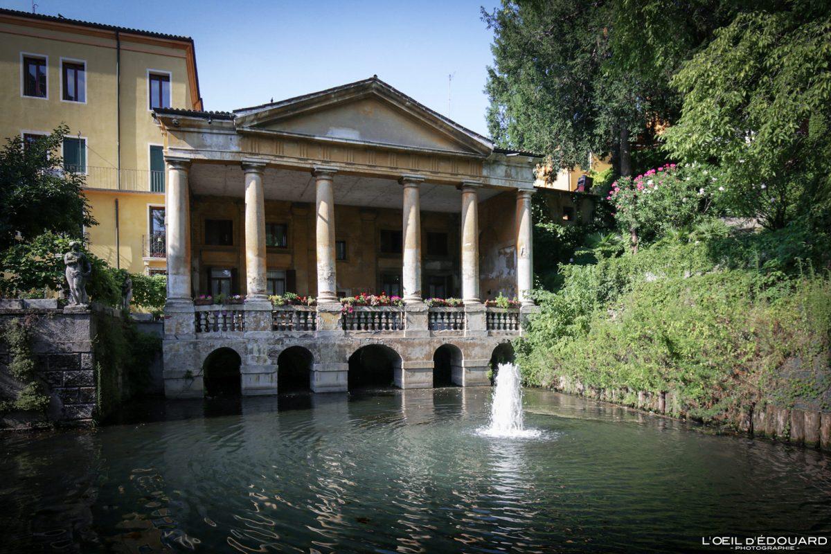 Jardin Querini Vicenza Itália Vêneto - Loggia Valmarana Querini Jardins de Vicenza Itália Vêneto Itália arquitetura do parque