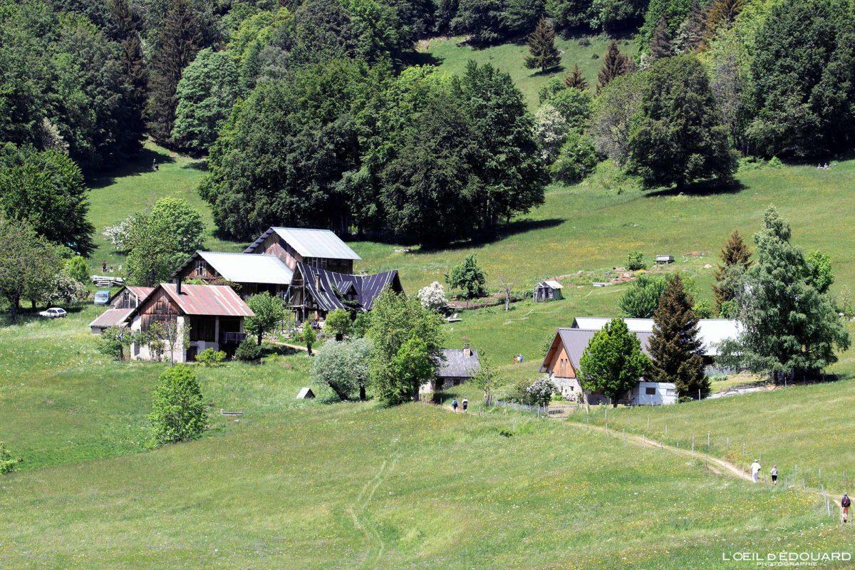 Les Granges de Joigny Chartreuse maciço Savoy Alps Montanhas Chalets França - casas de montanha ao ar livre nos Alpes franceses