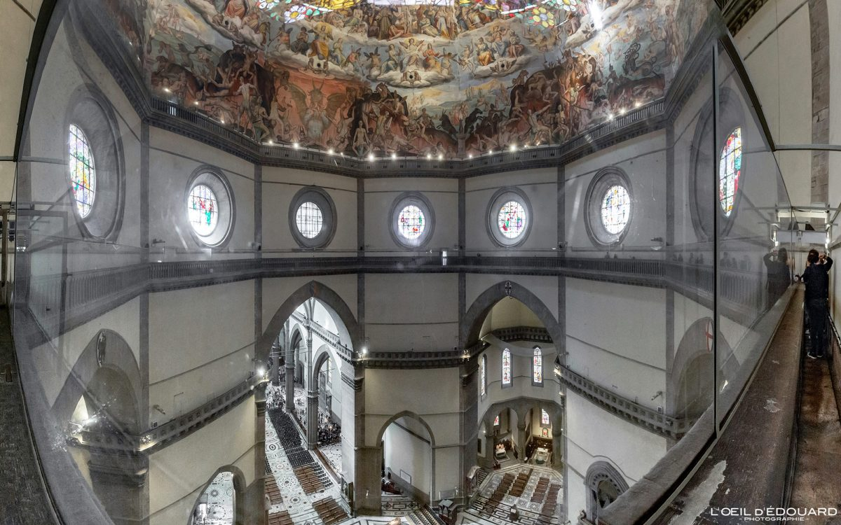 Duomo de Florença Toscana Itália: Cúpula de Brunelleschi - Catedral Santa Maria del Fiore Duomo Florença Toscana Itália Toscana Itália Arquitetura da igreja