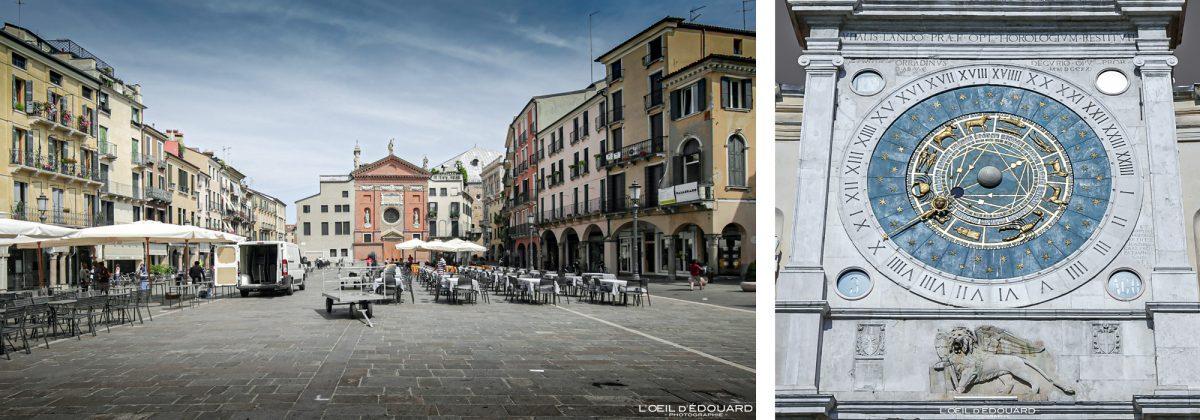 Relógio Dial Piazza dei Signori, Padua Italy - Campanile Padua Italy Itália Italian Place Italian Campanile