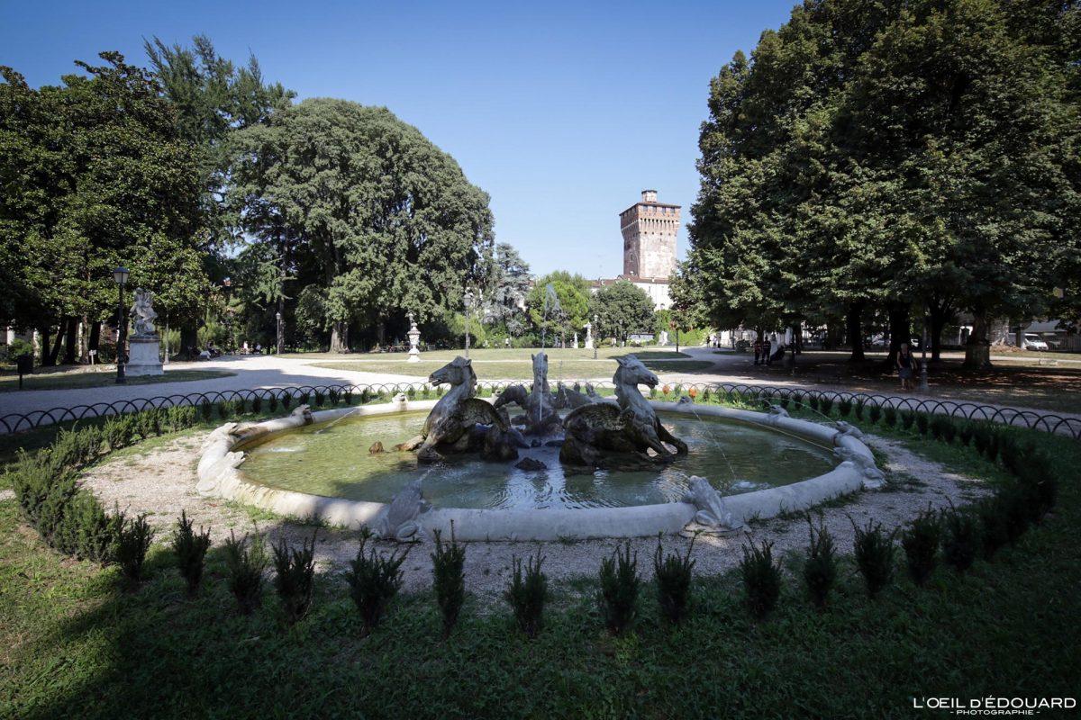 Brunnengarten Querini Vicenza Itália Vêneto - Fonte Querini Jardins de Vicenza Itália Vêneto Itália Brunnengartenpark