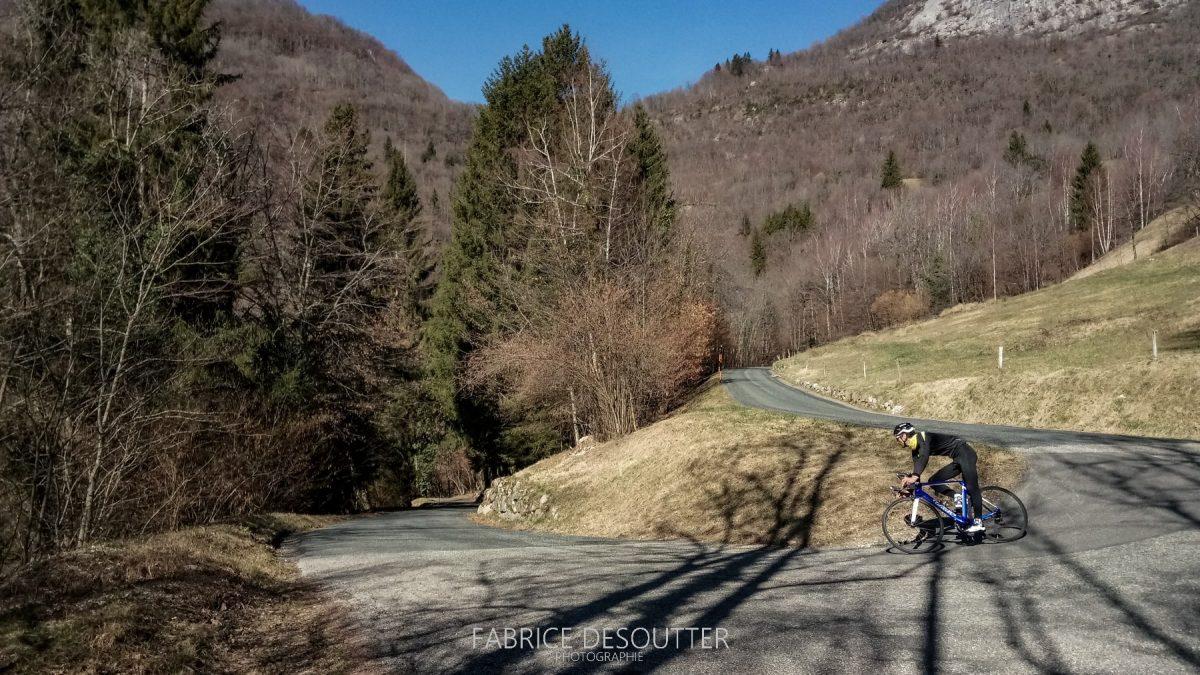 Ciclismo - Bicicleta de corrida ao ar livre do Massif des Bauges