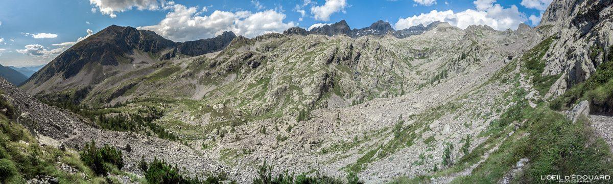 Caminhada Pas du Mont Colomb - Maciço du Mercantour Alpes-Maritimes Provença-Alpes-Côte d'Azur / Paisagem Caminhada Paisagem de montanha Caminhadas ao ar livre na montanha Caminhadas Trekking