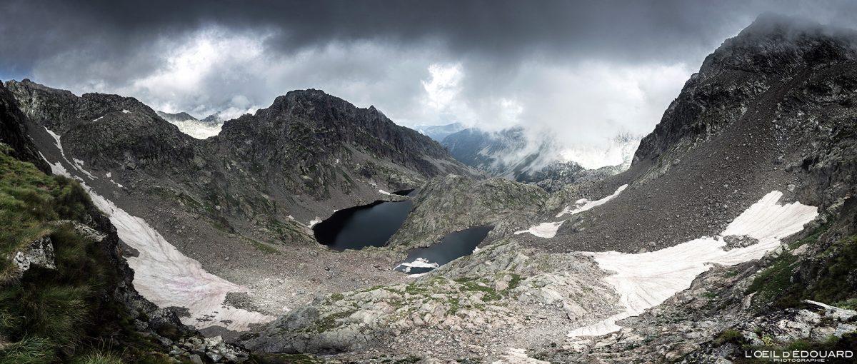 Caminhada Lac de la Lusière Lac Gelé - Maciço du Mercantour Alpes-Maritimes Provença-Alpes-Costa Azul / Paisagem Caminhada Paisagem de montanha Ao ar livre Lago de montanha Caminhada Caminhada Caminhada Caminhada Trekking
