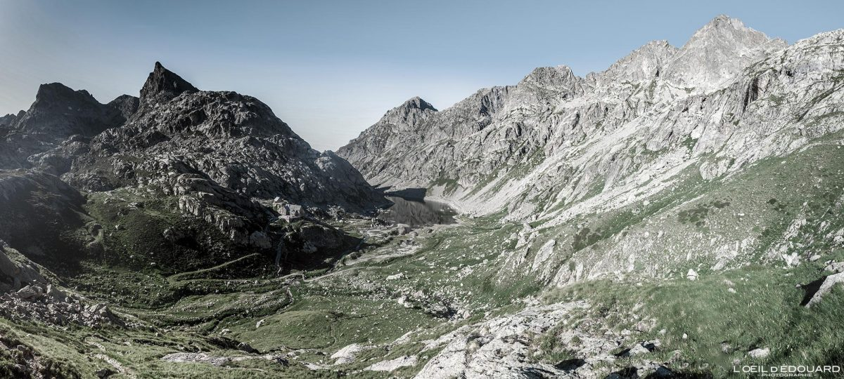 Caminhada Plaine de la Fous - Maciço du Mercantour Alpes-Maritimes Provença-Alpes-Côte d'Azur / Paisagem Caminhada na montanha Paisagem ao ar livre Caminhada na montanha Caminhada Trekking
