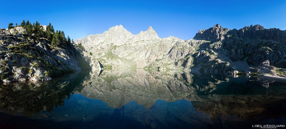 Lac Vert - Maciço du Mercantour Alpes-Maritimes Provença-Alpes-Côte d'Azur / Paisagem Caminhada na montanha Paisagem ao ar livre Montanha Lago Caminhada Caminhada Caminhada Trekking