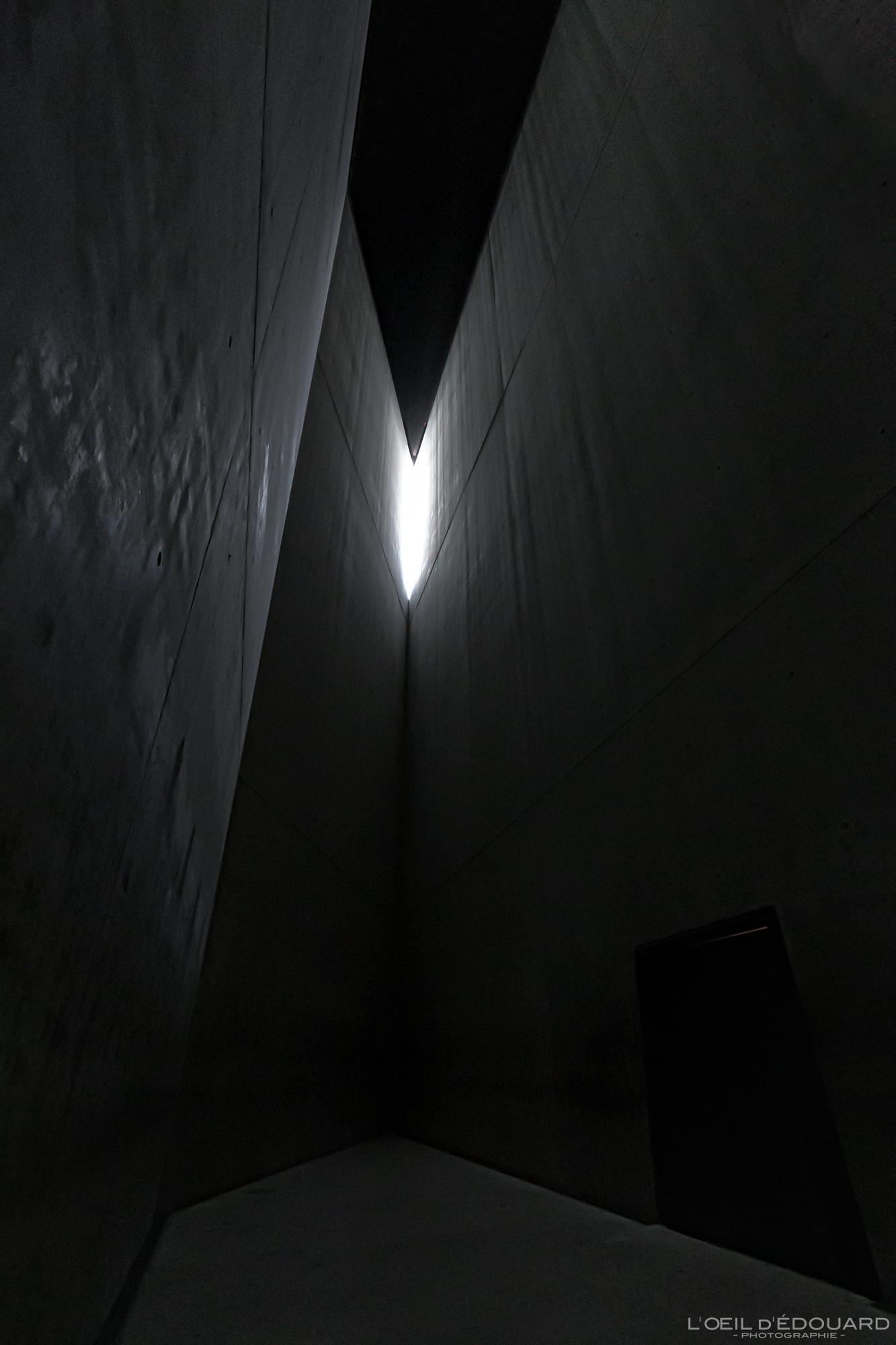 Museu Judaico Torre do Holocausto em Berlim Alemanha - Museu Judaico da Torre do Holocausto Alemanha Alemanha Torre do Holocausto Museu Judaico Arquitetura Daniel Libeskind
