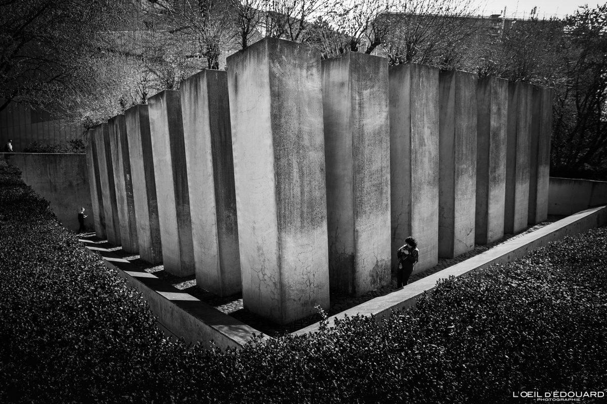 Museu Judaico Jardim do Exílio em Berlim Alemanha - Museu Judaico Jardim do Exílio Alemanha Alemanha Museu Judaico Jardim do Exílio Arquitetura Daniel Libeskind