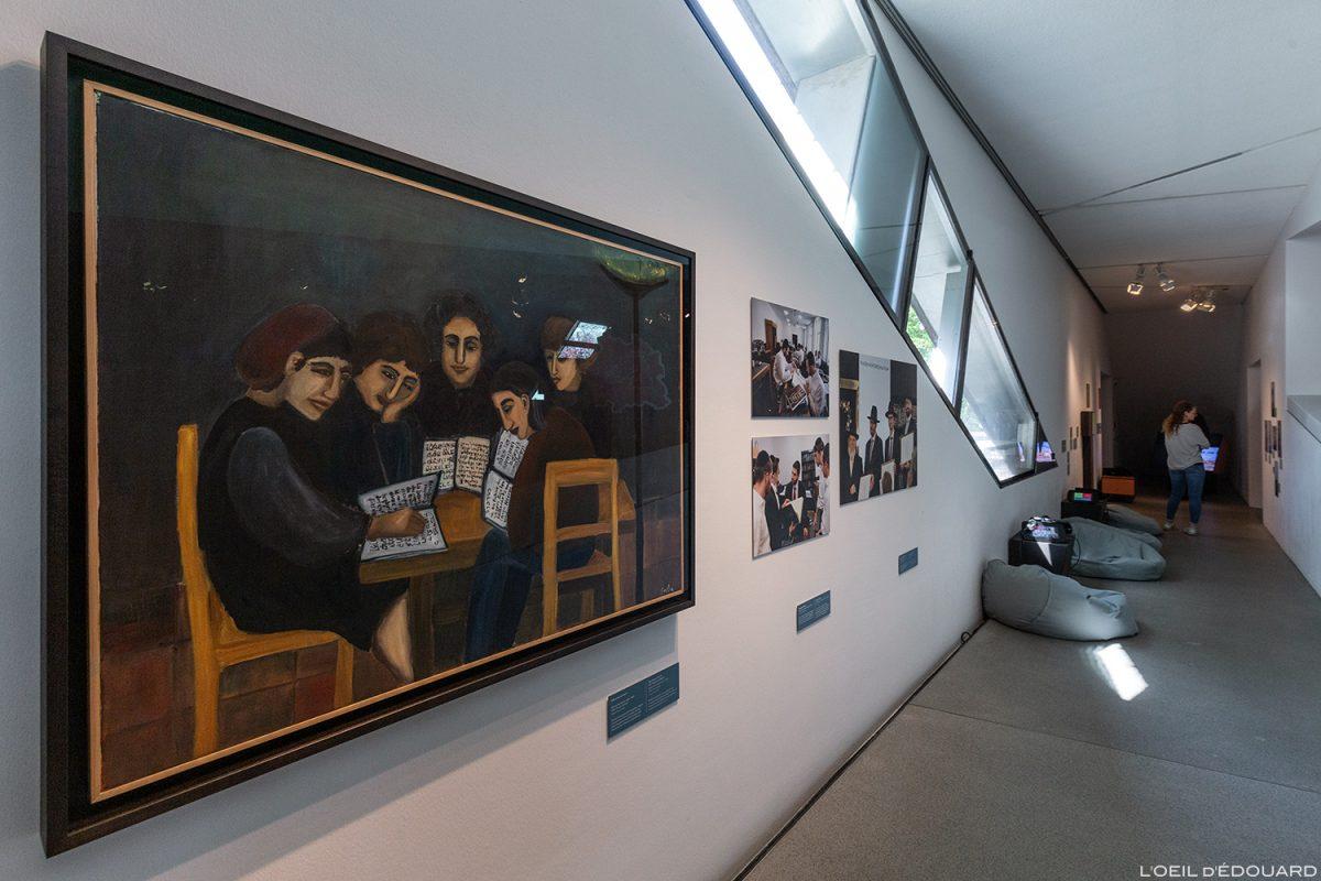 Coleção de exposições Museu Judaico de Berlim Alemanha - Museu Judaico da Alemanha Exposição de pinturas Museu Judaico