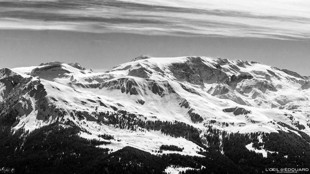 Geleira Vanoise du Quermoz Maciço de Beaufortain Alpes de Savoie França Paisagem Montanha Ski Touring Inverno Neve ao ar livre Alpes franceses Paisagem montanhosa Winter Snow Touring Ski touring