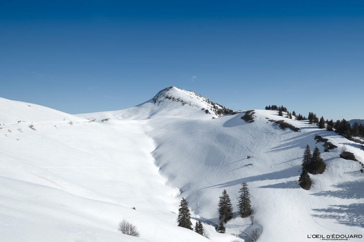 Esqui Le Charmant Som no inverno Chartreuse Maciço Isère Alpes Paisagem Montanha Neve França Ao ar livre Alpes franceses Paisagem montanhosa Inverno Neve Esqui Esqui