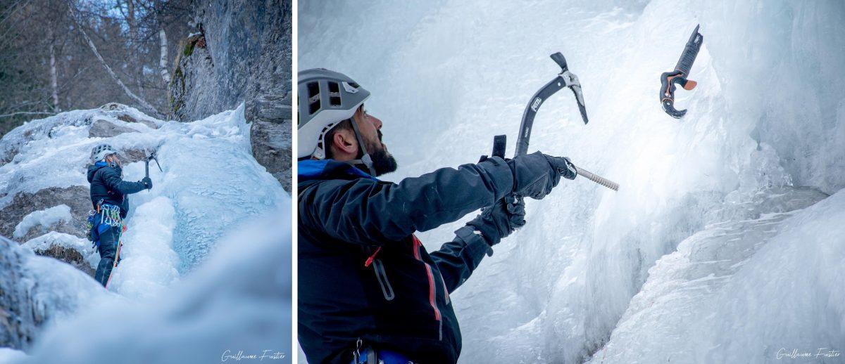 Altos Alpes Alpes franceses Montanha Montanhismo Kaskade de Glace Y de Ceillac Y de Ceillac Inverno Montanha Alpinismo Alpinismo Alpes franceses Inverno Montanha