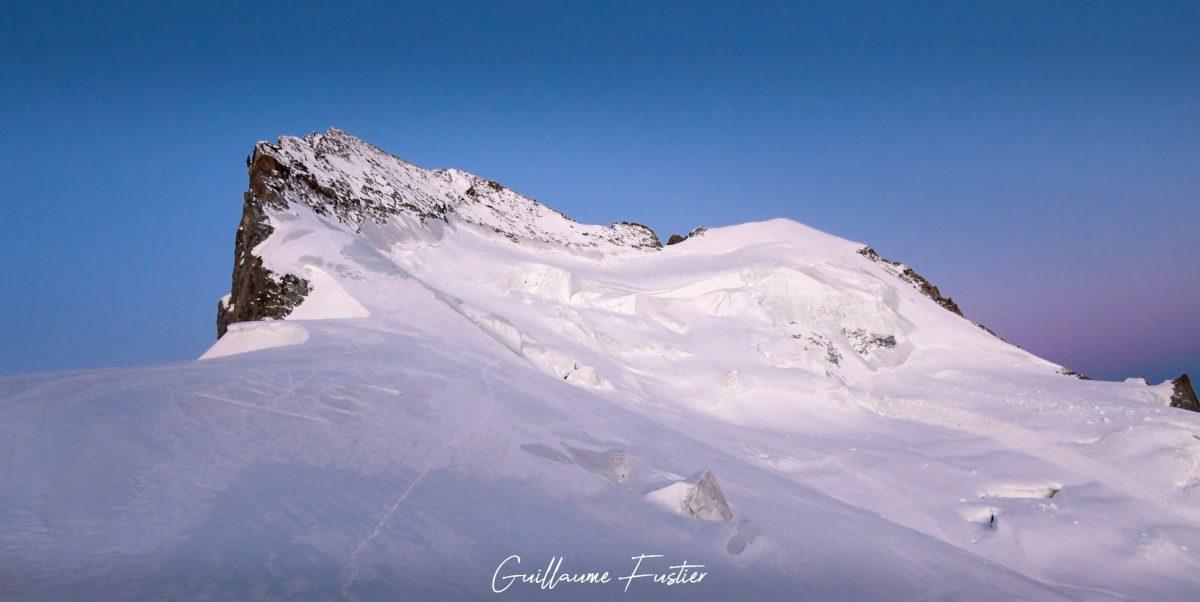 Altos Alpes Montanhismo Barre des Ecrins Montanhas Altos Alpes Nascer-do-sol Neve Paisagem Montanhas França Manhã Montanhismo Montanha Montanhas francesas Manhã Cores do pôr do sol