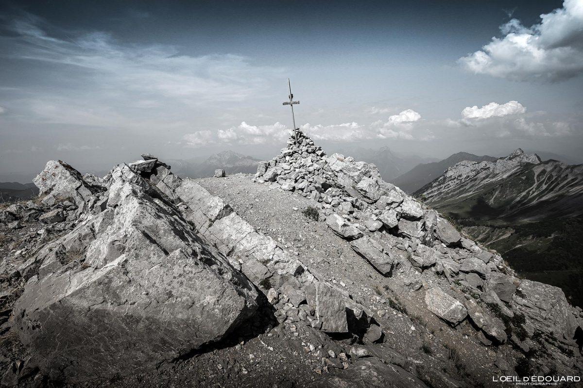 Sommet Arcalod Maciço des Bauges Savoie Alpes França Caminhadas Paisagem montanhosa - Paisagem montanhosa Alpes franceses Caminhadas ao ar livre Caminhadas