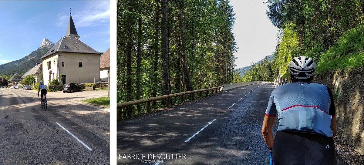 Ciclismo de bicicleta Maciço de la Chartreuse Isere Alpes França - Paisagem montanhosa ao ar livre Alpes franceses paisagem montanhosa corrida de bicicleta