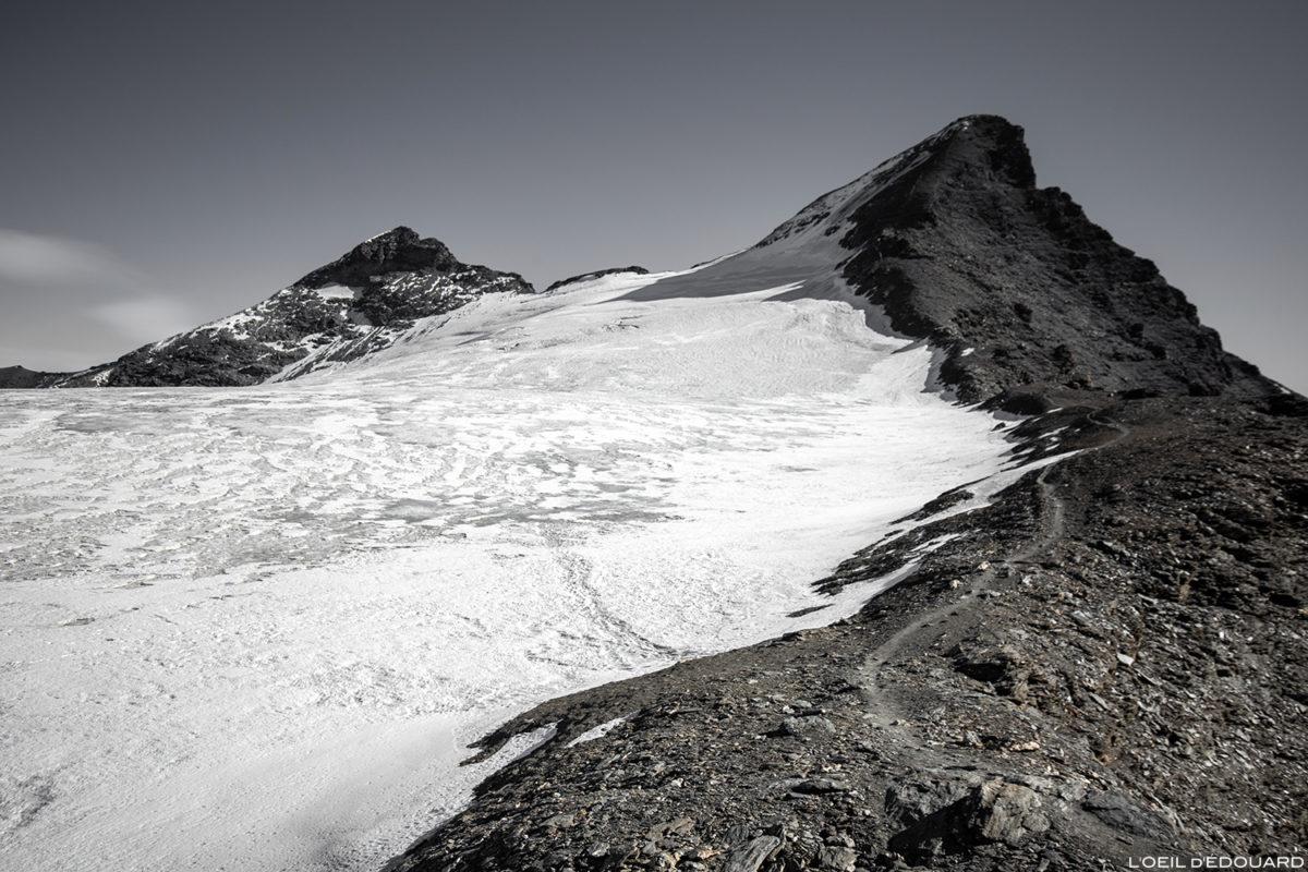 A Aiguille de la Grande Sassière e a Geleira de la Sassière, Alpes Grées, Montagne Savoie © L'Oeil d'Édouard - Todos os direitos reservados