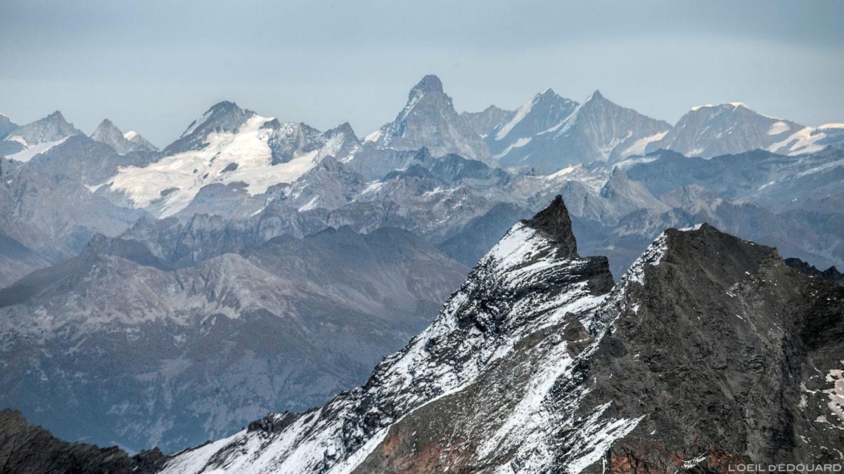 O Cervino / Matterhorn do topo Aiguille de la Grande Sassière - Montanhas suíças © L'Oeil d'Édouard - Todos os direitos reservados