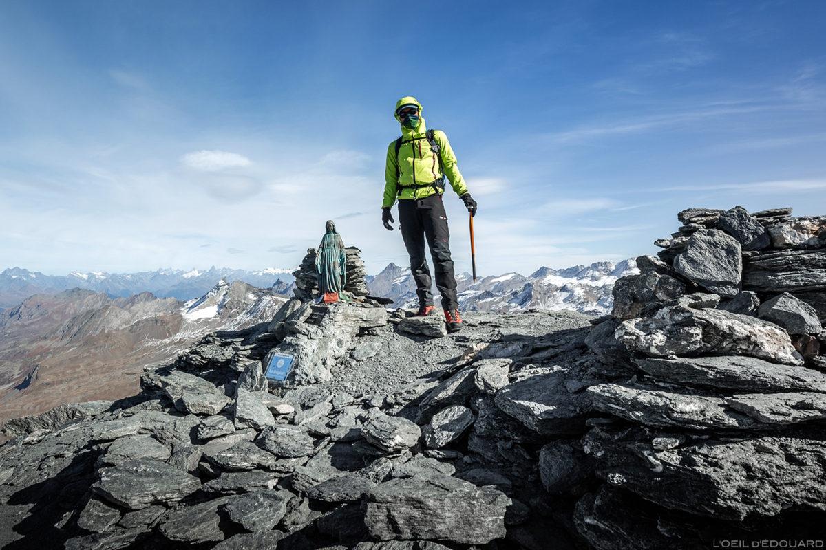 O cume do Aiguille de la Grande Sassière (3747 m) - Alpes Grées, Montagne Savoie