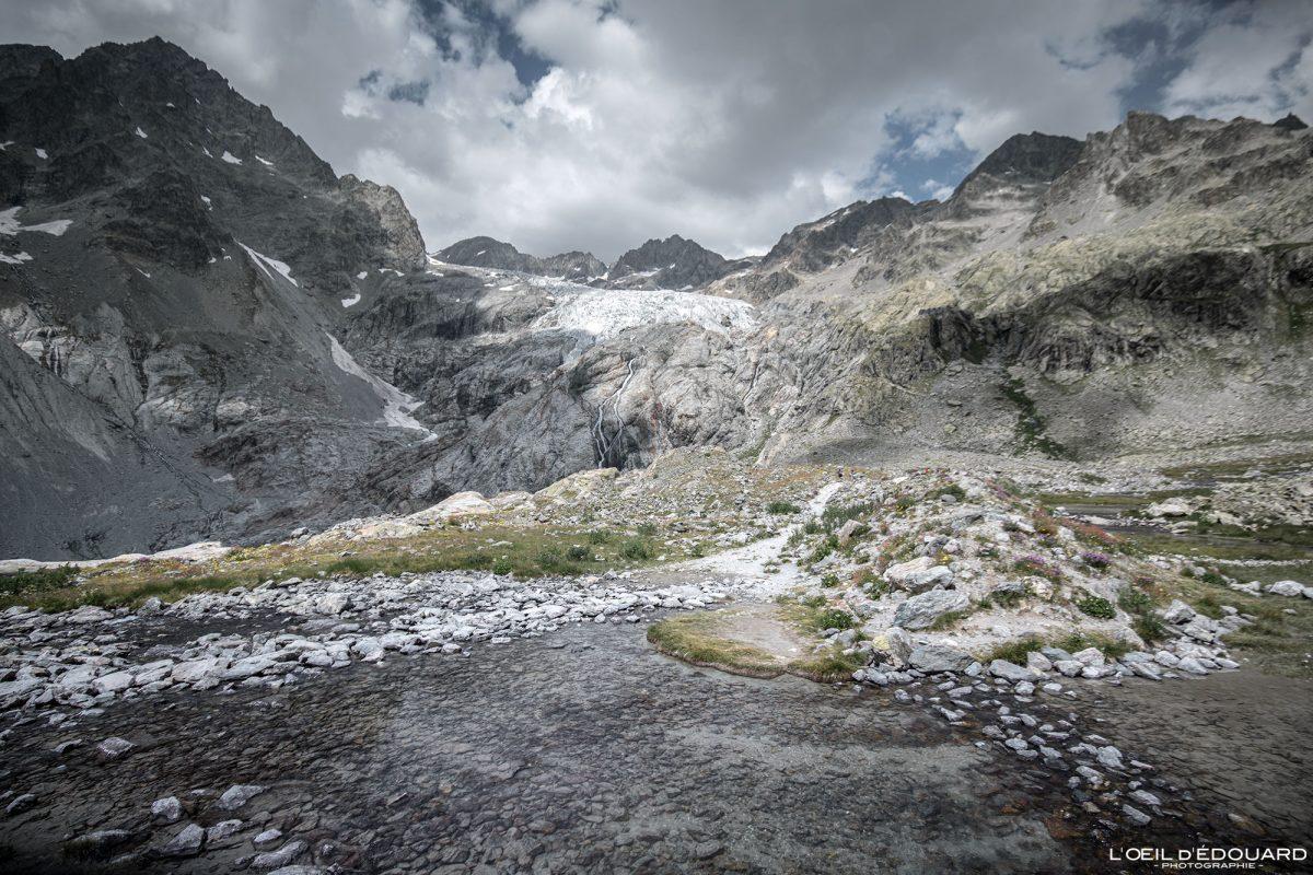 Randonnée Blanc Glaciar Maciço des Ecrins Hautes-Alpes França Paisagem montanhosa - Paisagem montanhosa Alpes franceses Caminhadas ao ar livre Caminhadas