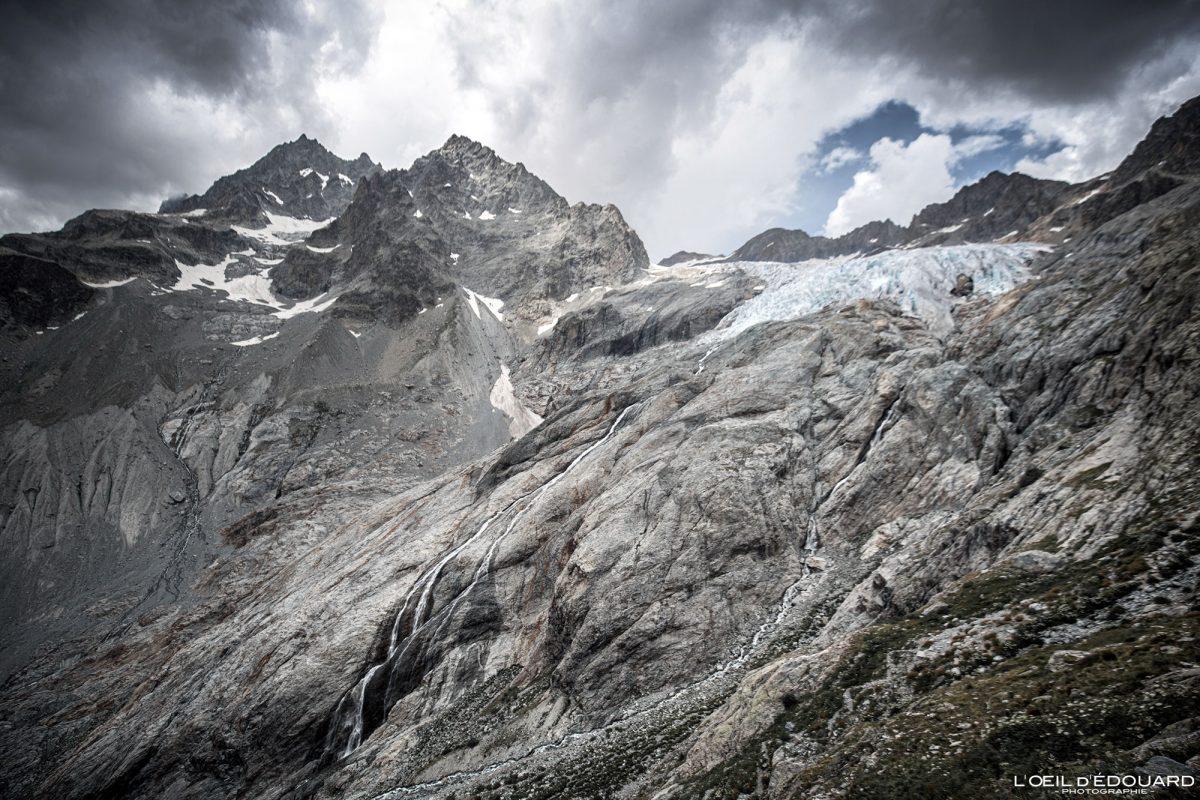 Maciço Le Glacier Blanc des Ecrins Hautes-Alpes França Caminhadas Paisagem montanhosa - Paisagem montanhosa Alpes franceses Caminhadas ao ar livre Caminhada