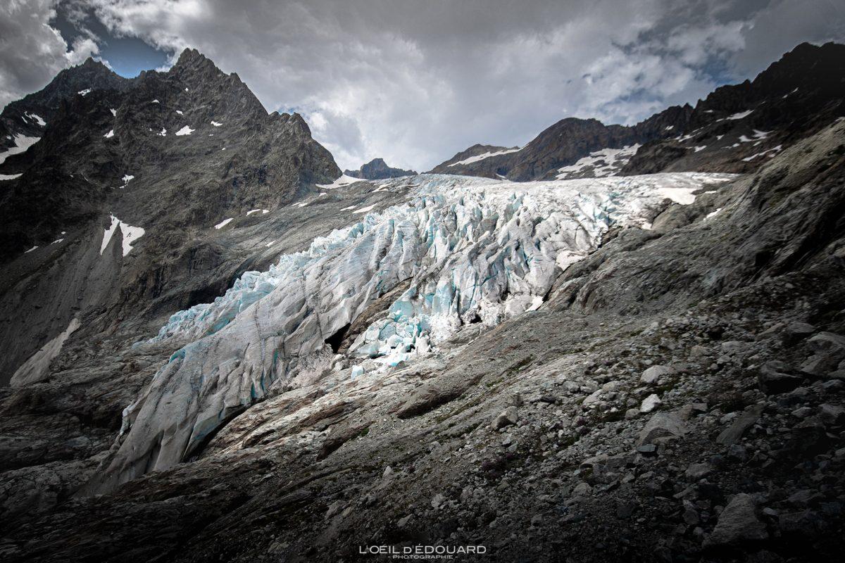 Le Glacier Blanc Massif des Ecrins Hautes-Alpes França Caminhada Paisagem montanhosa - Paisagem montanhosa Alpes franceses Caminhadas ao ar livre Caminhada
