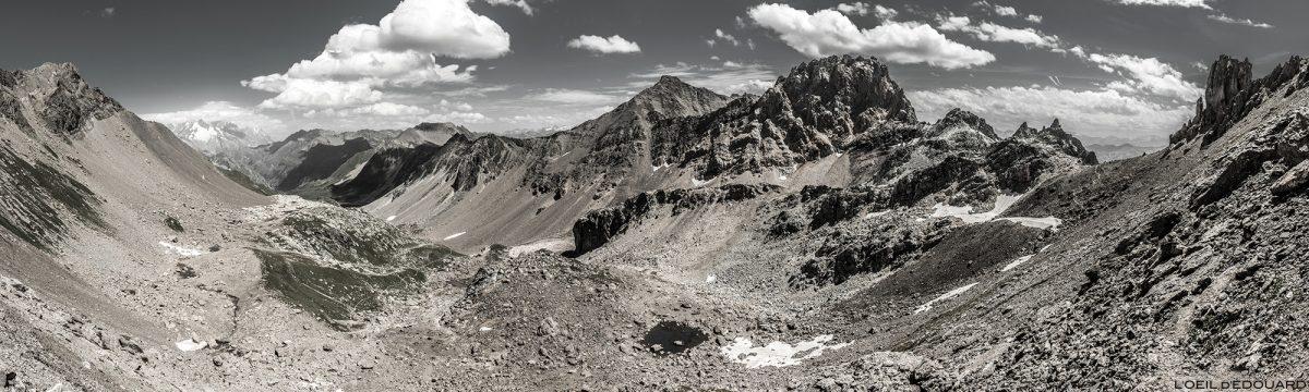 La Combe de la Neuva, Aiguille de la Nova no Col du Grand Fond, Le Beaufortain Savoie Paisagem Alpes montanhosos © L'Oeil d'Édouard - Todos os direitos reservados