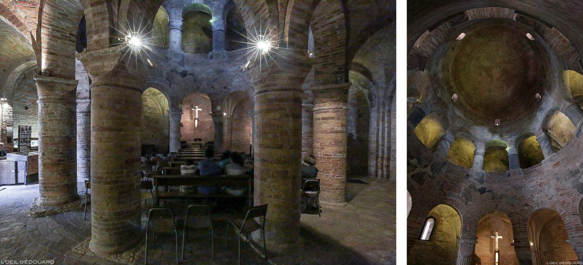 Interior da igreja, Santuário da Rotonda di San Lorenzo, Piazza delle Erbe, Igreja de Mântua Itália / Mântua Itália Itália