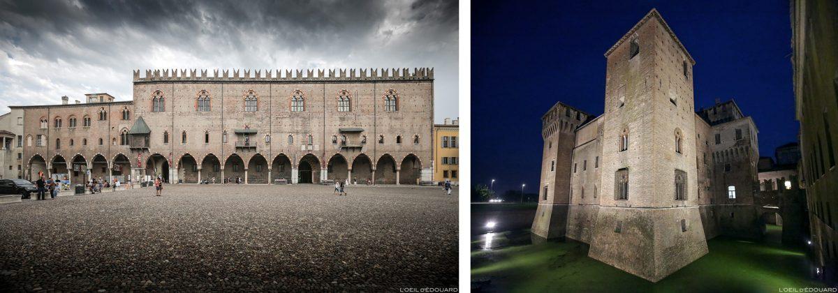 Palazzo Ducale, Mântua Itália / Palazzo Ducale em Mântua, Itália Castello Itália