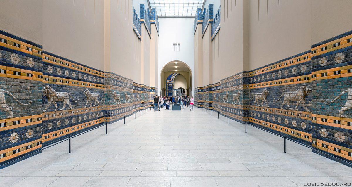 Route de Babylon, Museu Pergamon - Ilha dos Museus de Berlim Alemanha / Rua Processional da Babilônia Museu da Ilha de Pergamon Alemanha Alemanha