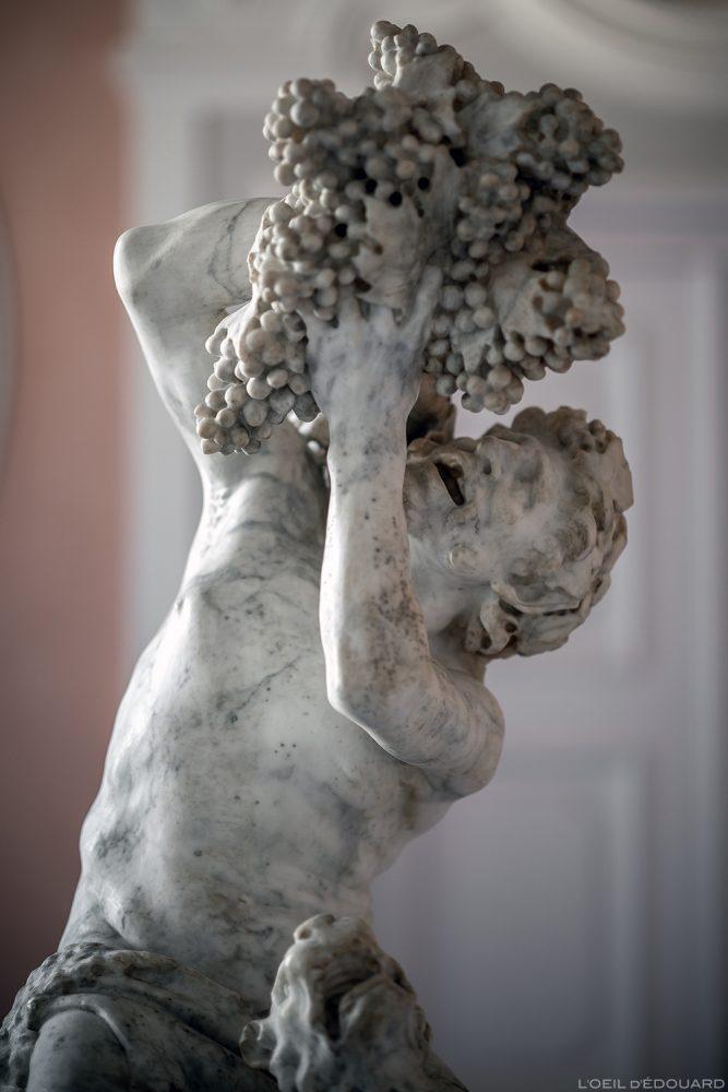 Sátiro e uma pantera (c.1615) Bernini Pietro Bernini - Museu Bode, Ilha dos Museus em Berlim Alemanha / Museu Bode, Ilha dos Museus Alemanha Alemanha Escultura