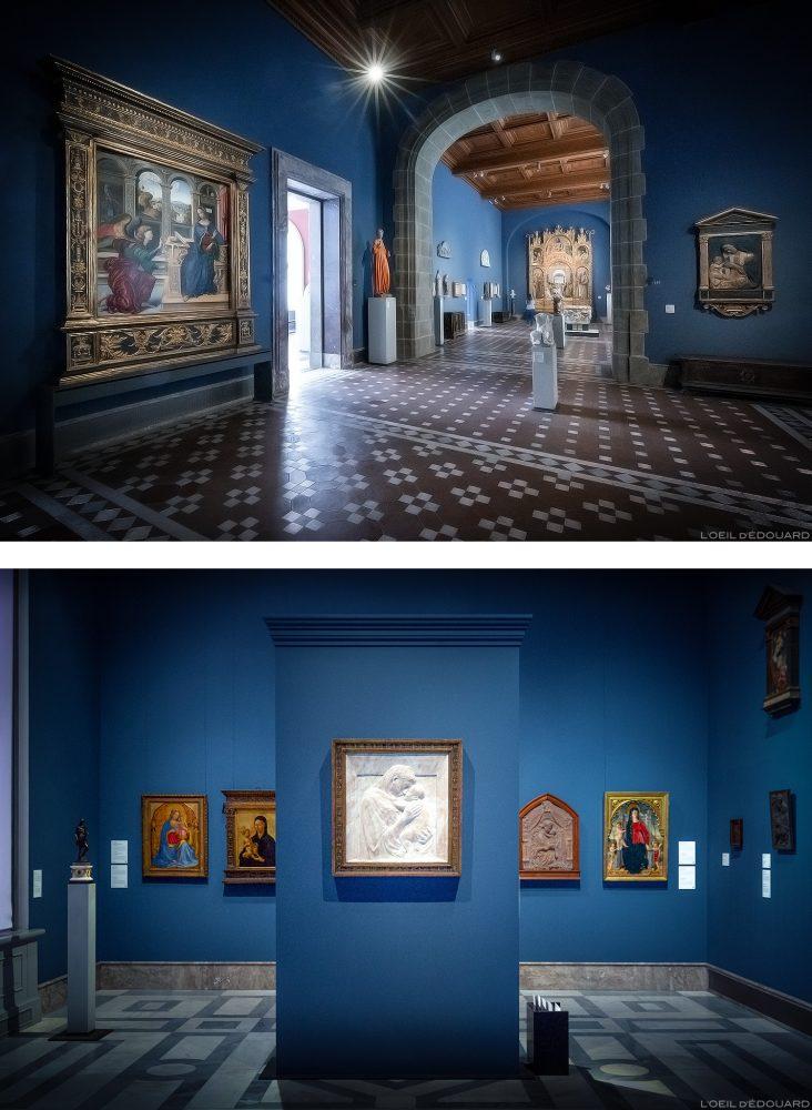 Coleção da Renascença Italiana (Donatello, Far Angelico, Masaccio, Uccello) - Museu Musée de Bode, Berlin Museum Island Germany / Museum Island Germany Alemanha