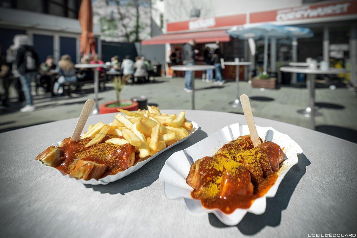 Fries Currywurstwurst - Berlim Alemanha Alemanha Comer Alemanha