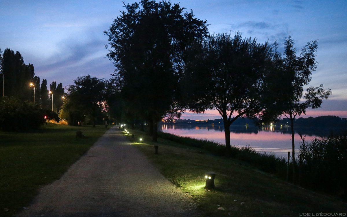Pôr do sol no rio Mincio, Mântua Itália - Giardini Marini, Lago Inferiore, pôr do sol no Lago Mântua Itália Itália