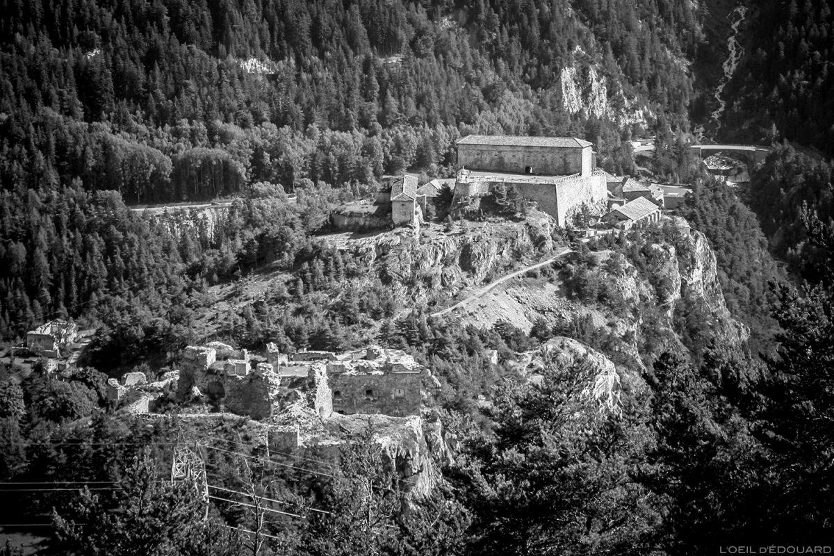 Fort Victor-Emmanuel, Forts de l'Esseillon em Aussois, Alpes Haute Maurienne Savoie