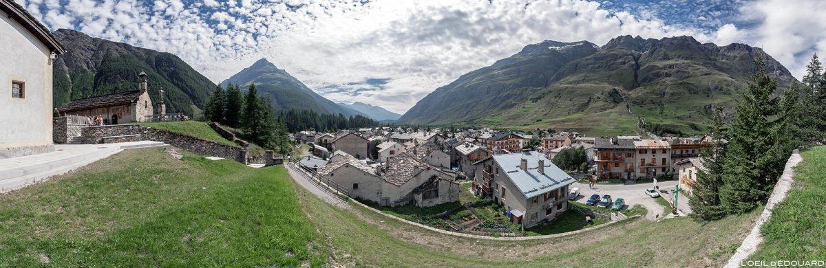 A aldeia de Bessans - Alpes de Haute Maurienne Savoie