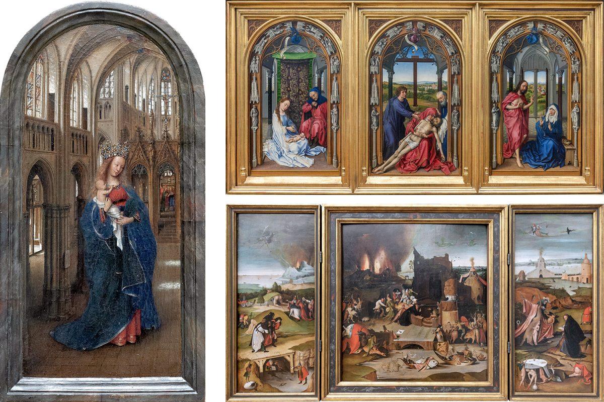Jan Van Eyck, Rogier Van der Weyden, Hieronymus Bosch - Museu Gemäldegalerie Berlim Alemanha Alemanha Alemanha