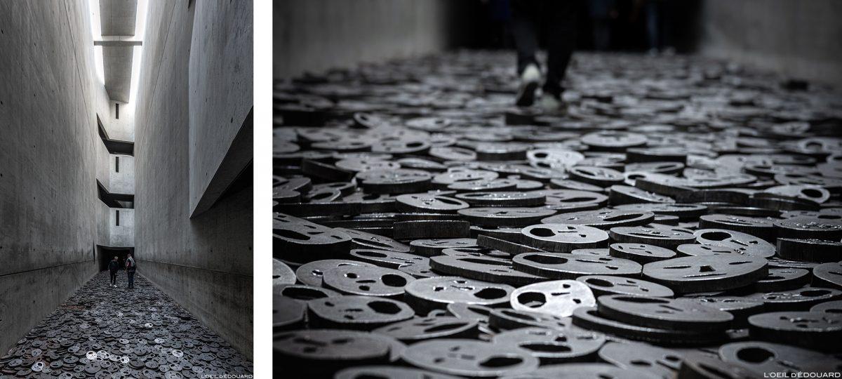 Shalekhet (1997-2001) Menashe Kadishman - memória vazia, arquitetura Museu Judaico de Berlim Alemanha - Museu Judaico, Alemanha Alemanha - Arquiteto Daniel Libeskind