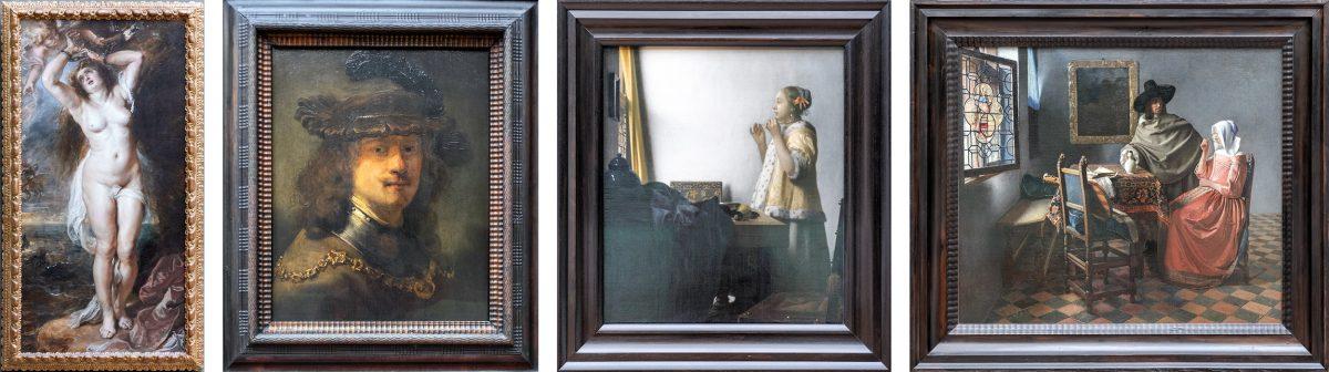 Peter Paul Rubens, Rembrandt, Jan Vermeer - Museu Gemäldegalerie Berlin Alemanha Alemanha Alemanha