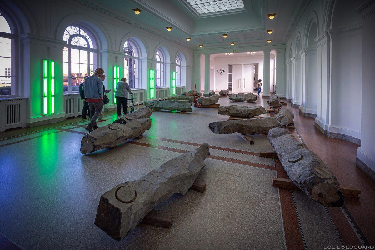 Fim do século 20 (1982/1983) Joseph Beuys - Museu de Arte Contemporânea de Berlim Hamburger Bahnhof - Alemanha Deutschland Alemanha