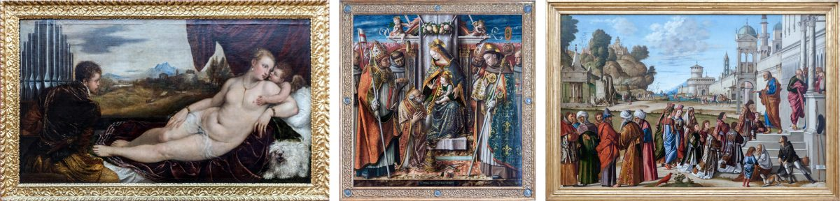 Tizian, Crivelli, Carpaccio - Museu Gemäldegalerie Berlin Deutschland Deutschland Deutschland