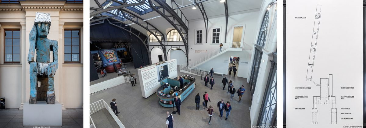 Museu de Arte Contemporânea de Berlim Hamburger Bahnhof - Alemanha Deutschland Deutschland